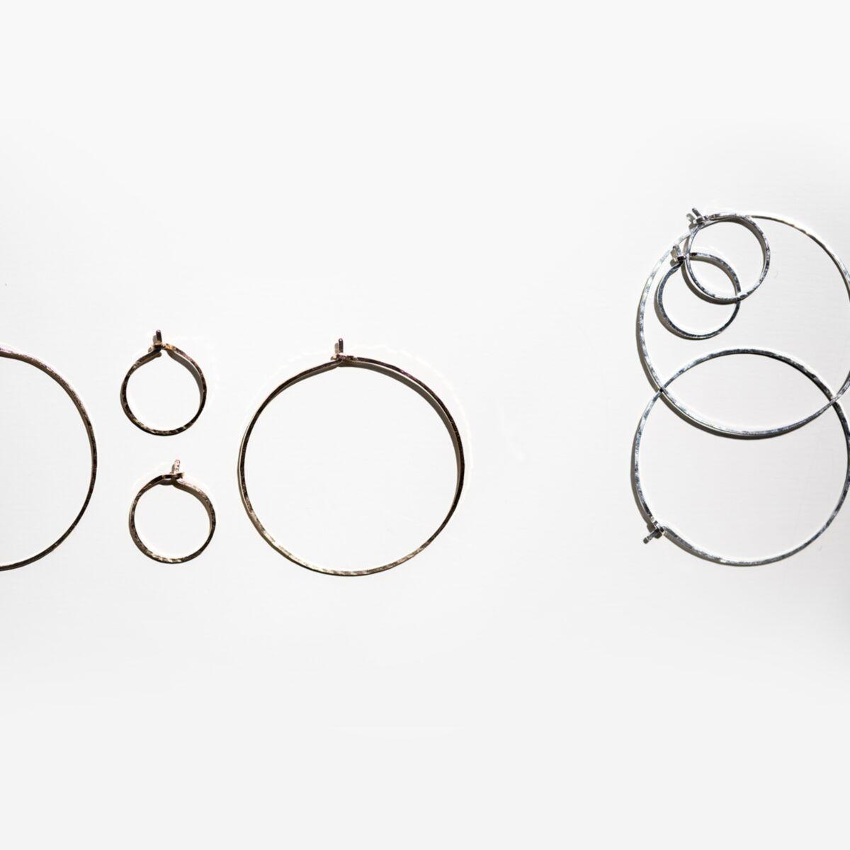 Hoop Dream Earring, silver (single) image