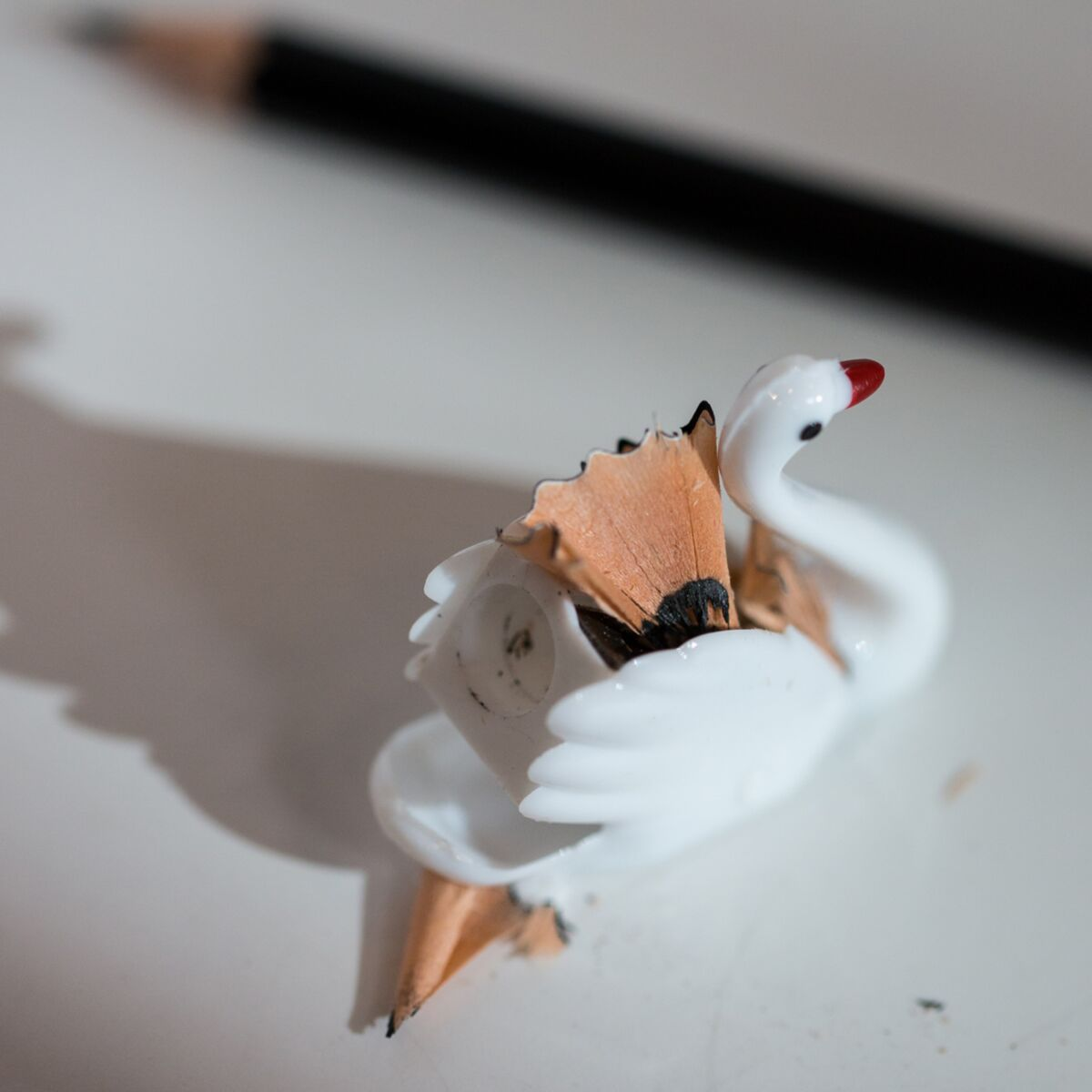Swan Pencil Sharpener image