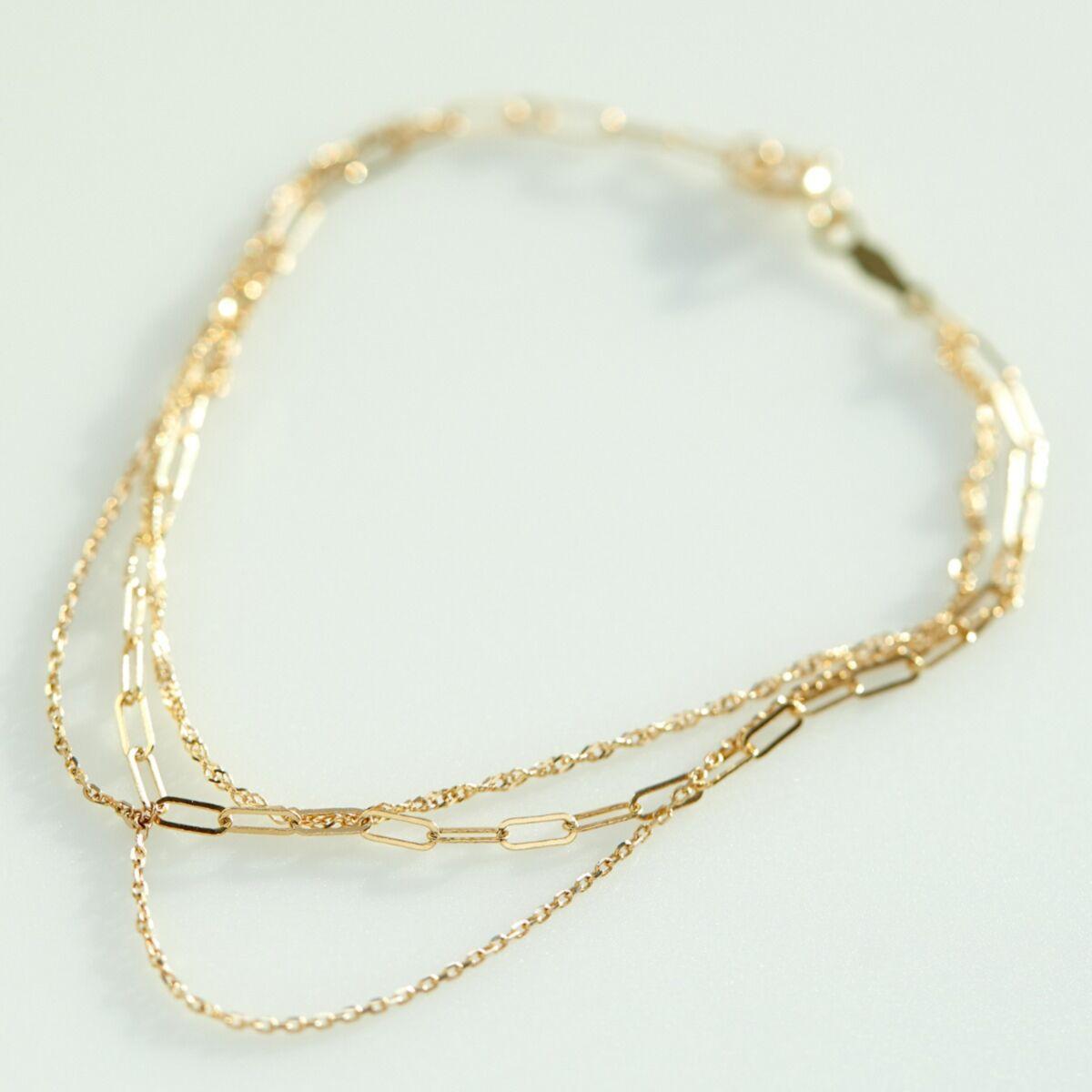 Spun Gold Bracelet image