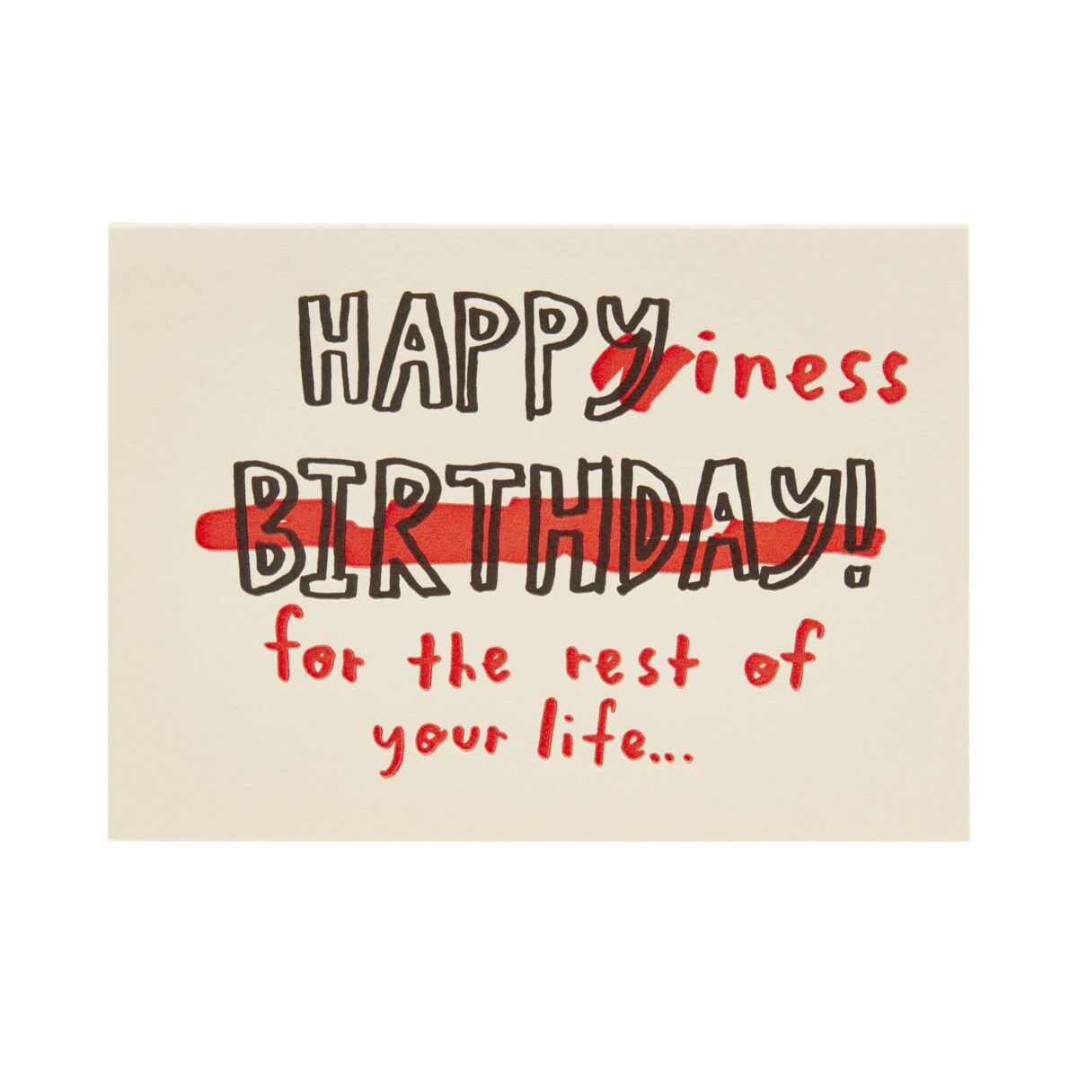 Happiness Birthday Card image