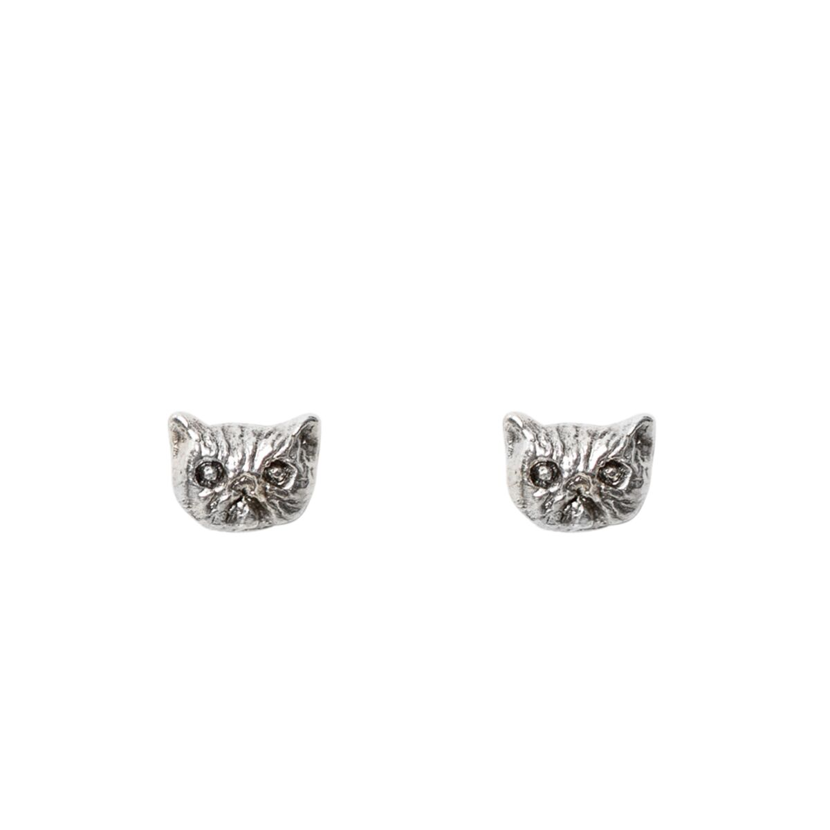 Itty Bitty Kitty Stud, Silver (single) image
