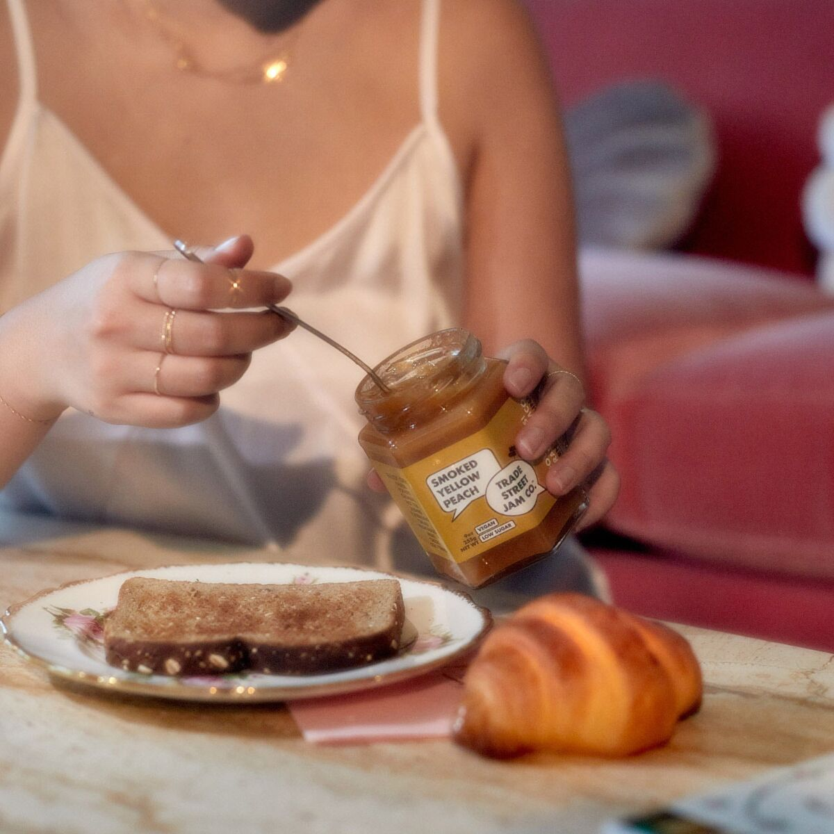 Smoked Peach Jam image