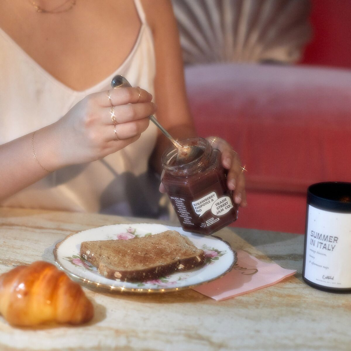 Strawberry Chipotle and Fig Jam image