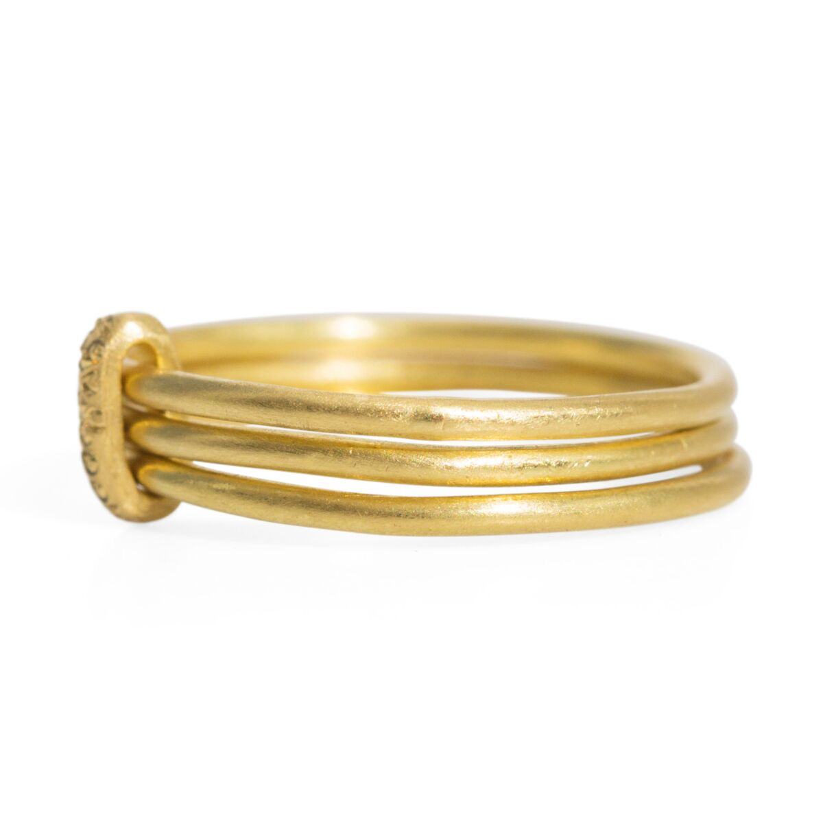 Trio Stack Rattle Ring image