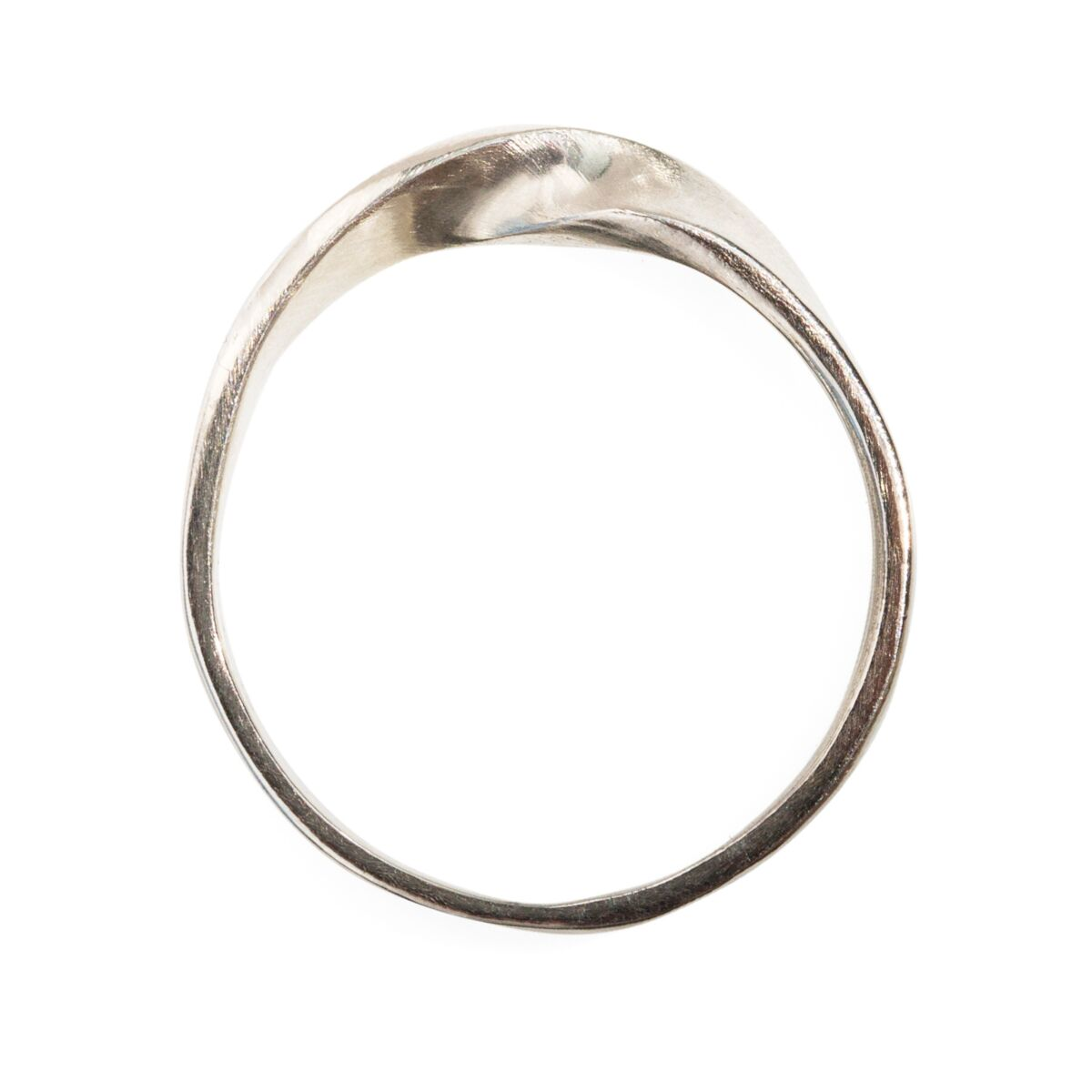 Wide Twisted Eternal Ring image