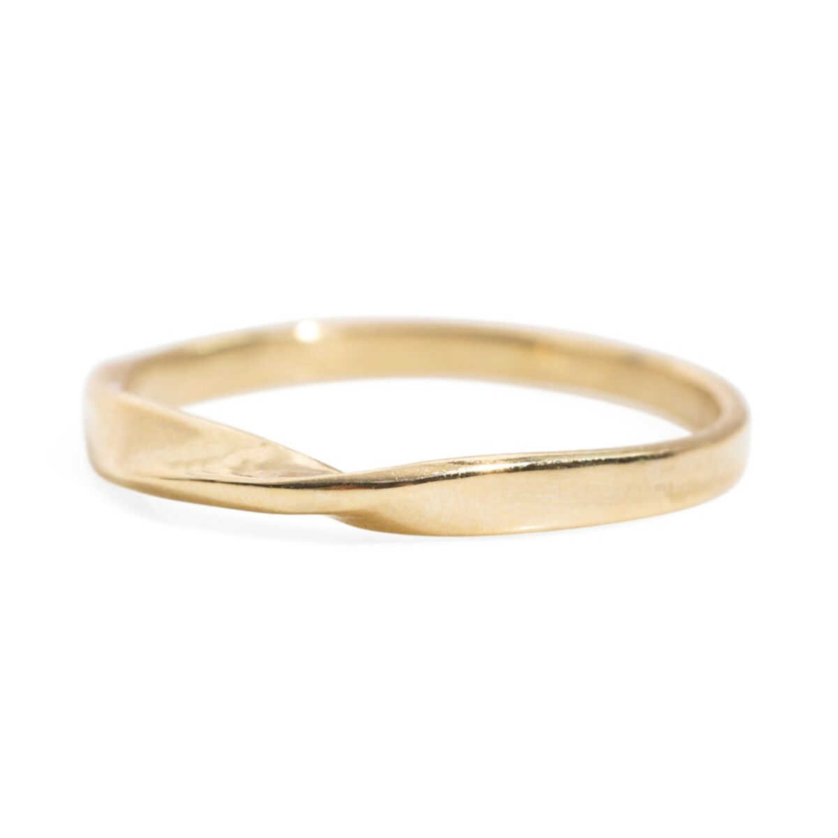 Narrow Twisted Eternal Ring image