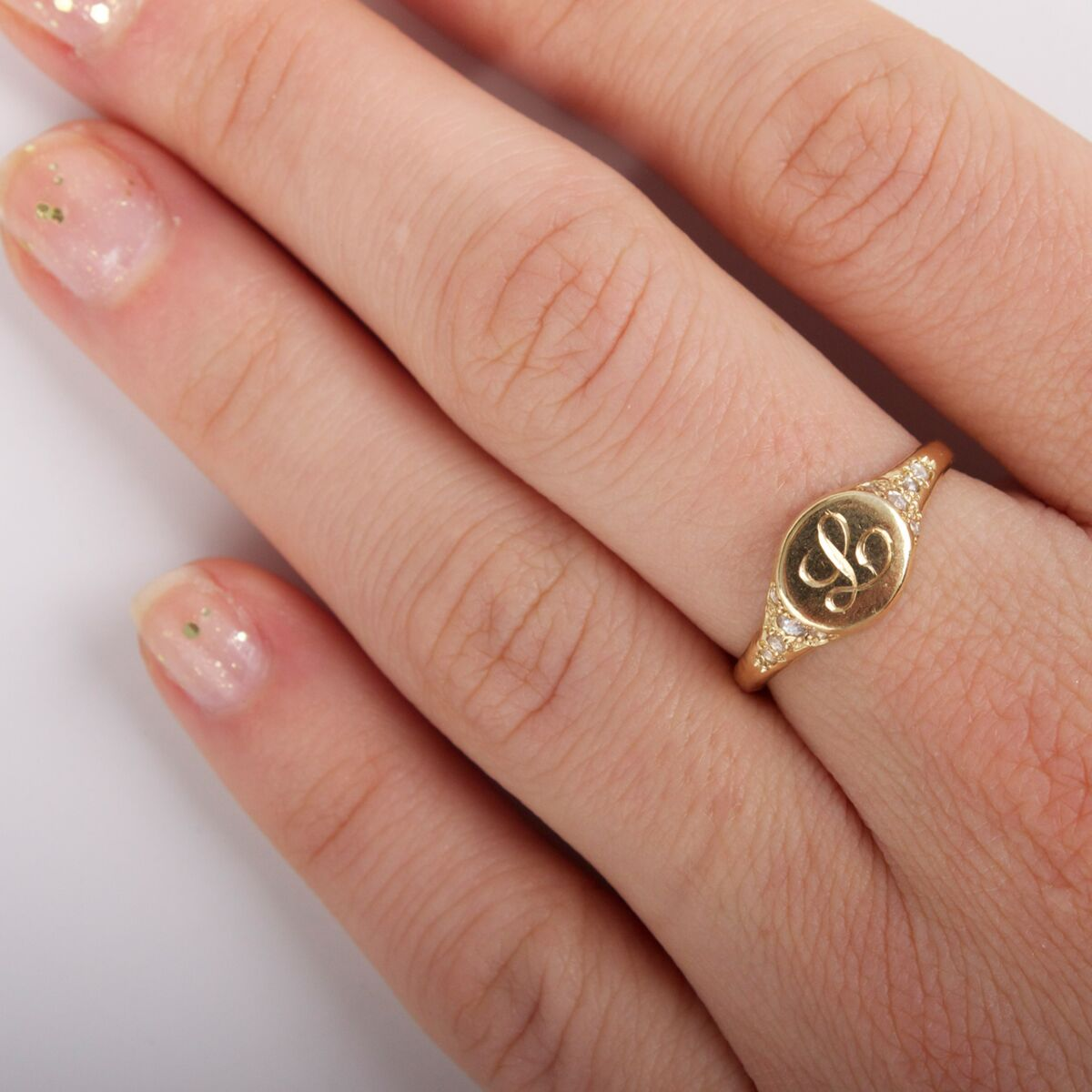 Viola's Treasure Signet Ring image