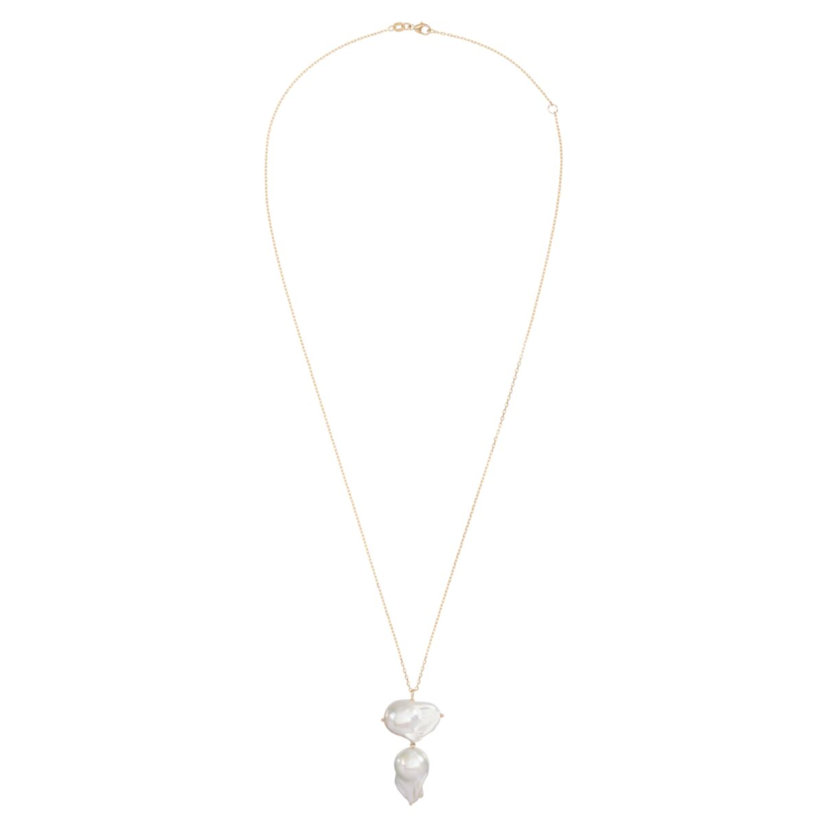 Double Baroque Pearl Necklace image