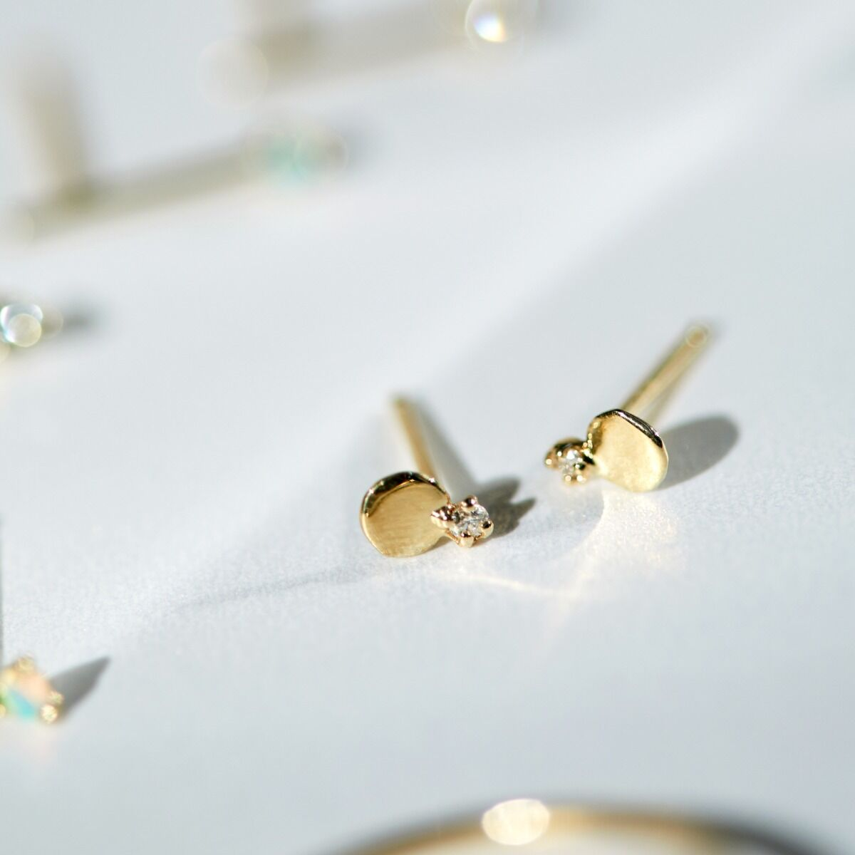 Diamond Slip Stud, Small (single) image
