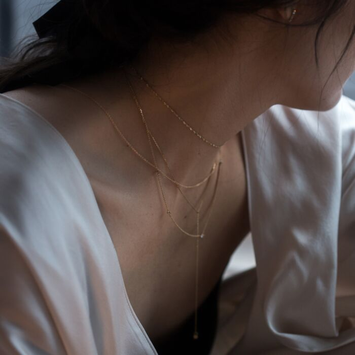 Sweet Nothing Choker, Gold image