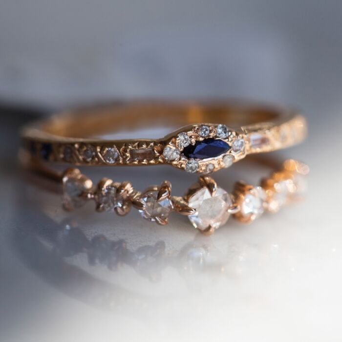 Anastasia Marquise Sapphire Ring image