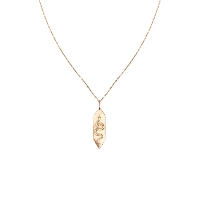 Golden Serpent Necklace image