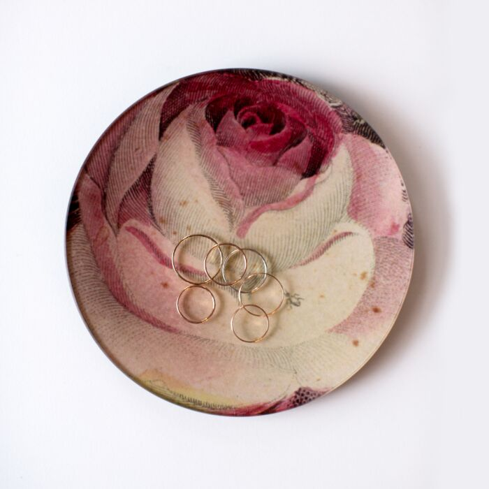Rose with Ant Plate image