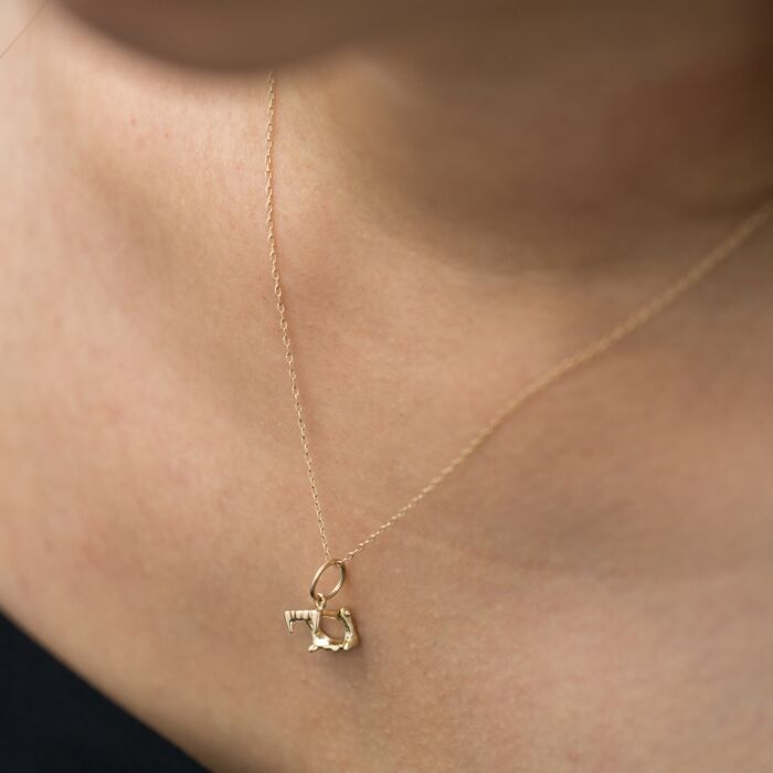 Baby Vamp Mini Charm Necklace image