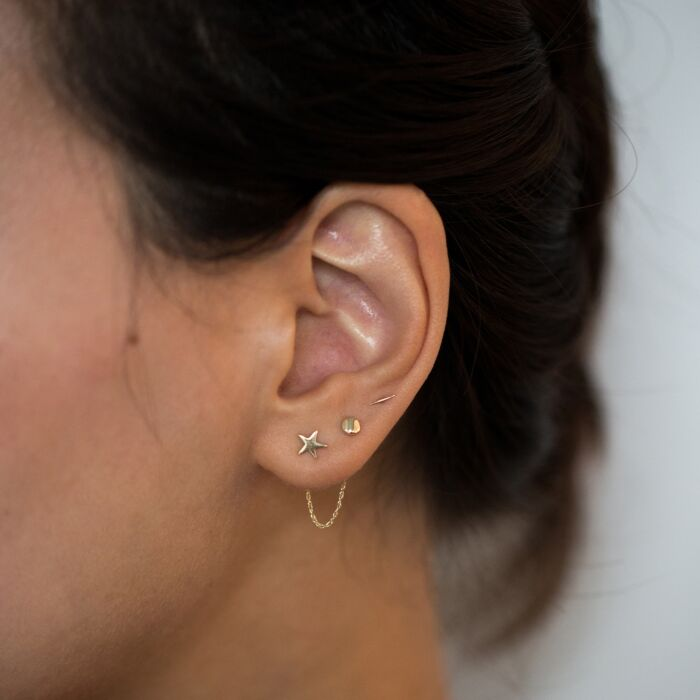 The Claribel Earring Chain