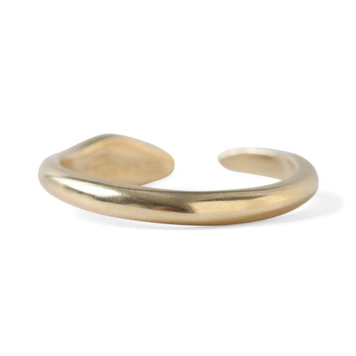Brass Snake Ring image