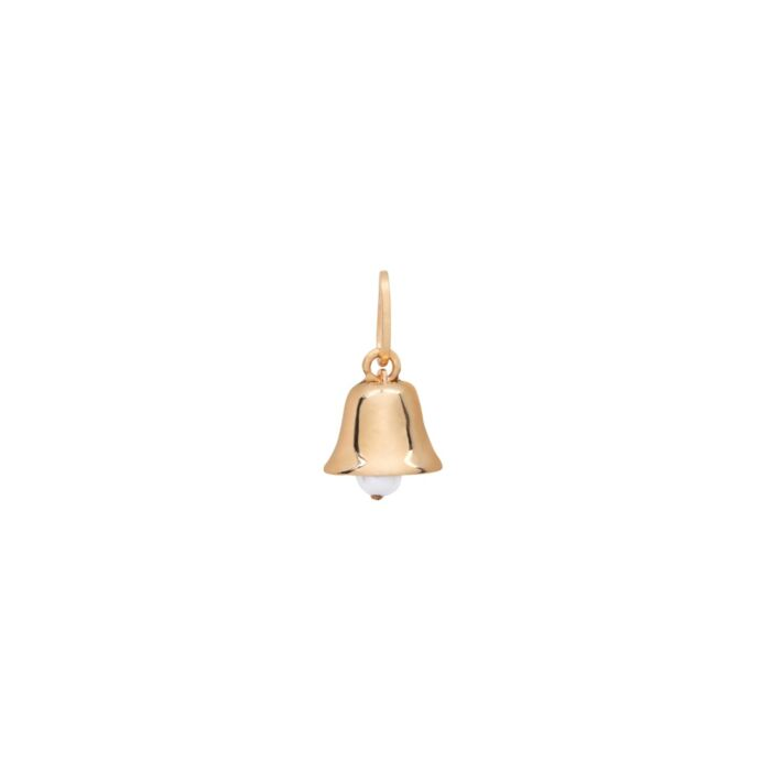 Bell Charm, Yellow Gold