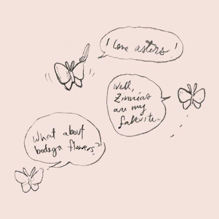 Papillon Charm, Silver image