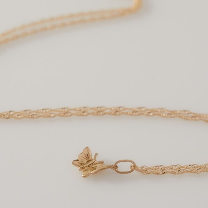 Papillon Charm, Yellow Gold image