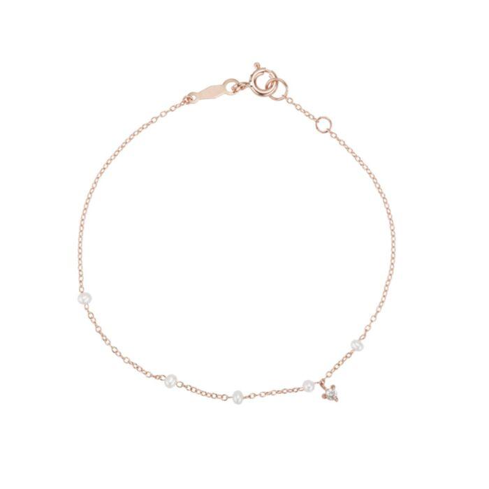 Dewdrop Bracelet, rose gold