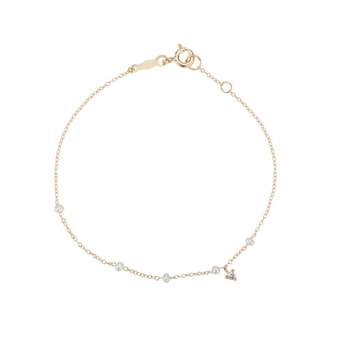 Dewdrop Bracelet, yellow gold