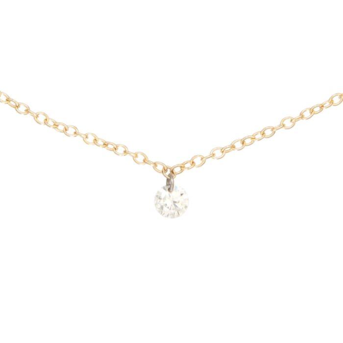 Diamond Pinprick Bracelet, yellow gold image