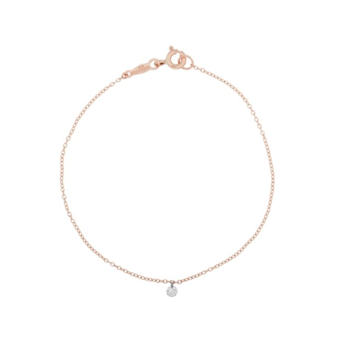 Diamond Pinprick Bracelet, rose gold