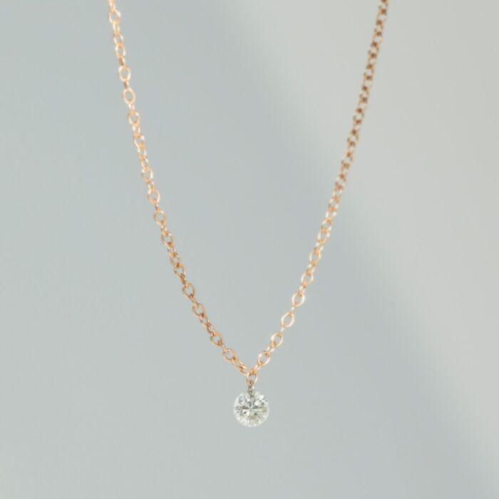 Forever Pinprick Bracelet, Rose Gold image
