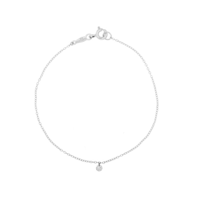 Diamond Pinprick Bracelet, white gold image