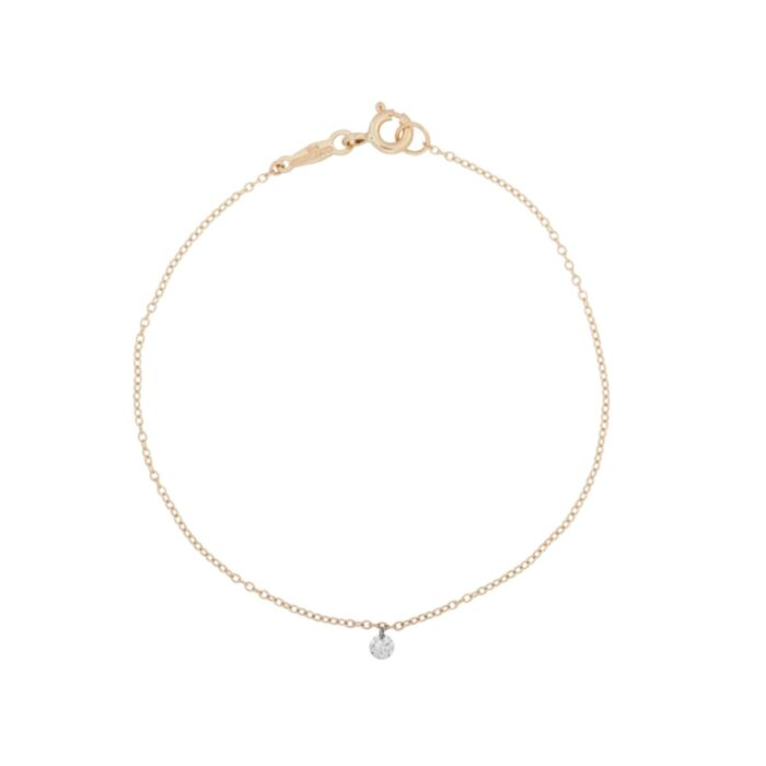 Diamond Pinprick Bracelet, yellow gold
