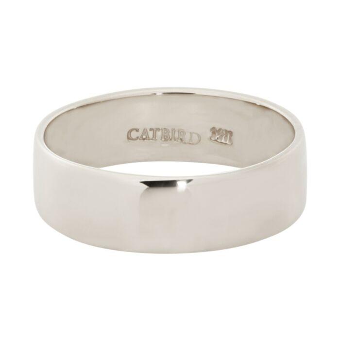 Catbird Classic Wedding Bands, Flat Band, 5mm image