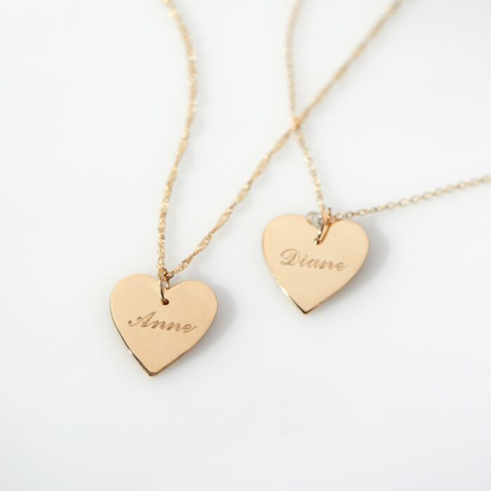 Full Heart, Yellow Gold image