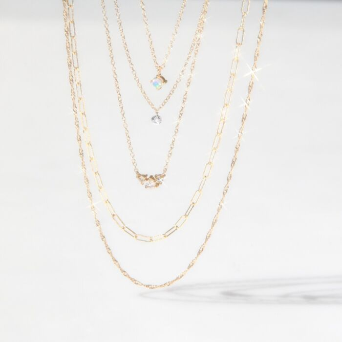 Adjustable Sweet Nothing Chain, Yellow Gold image