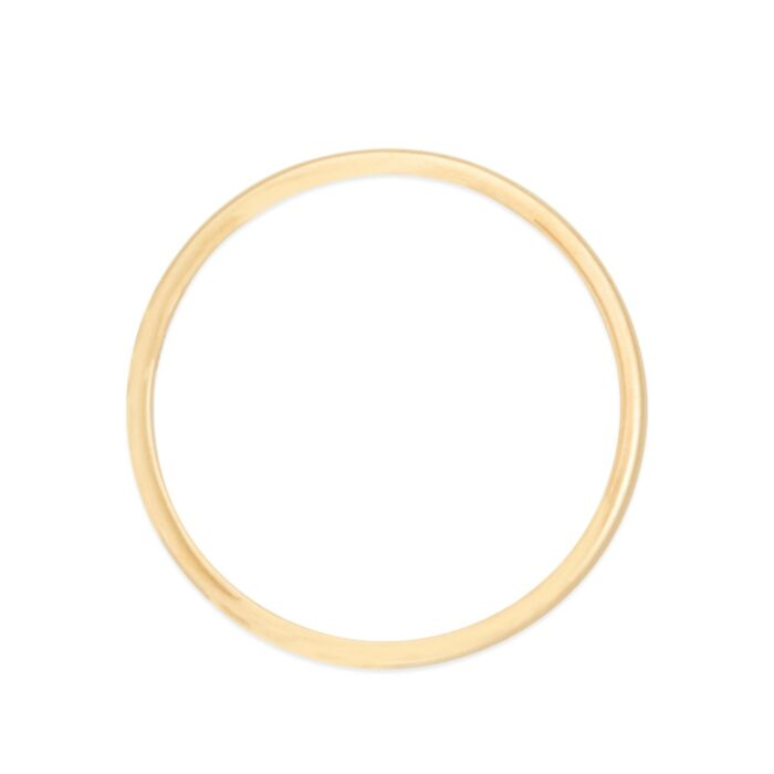 Catbird Classic Wedding Bands, Half Round Band, 5mm image