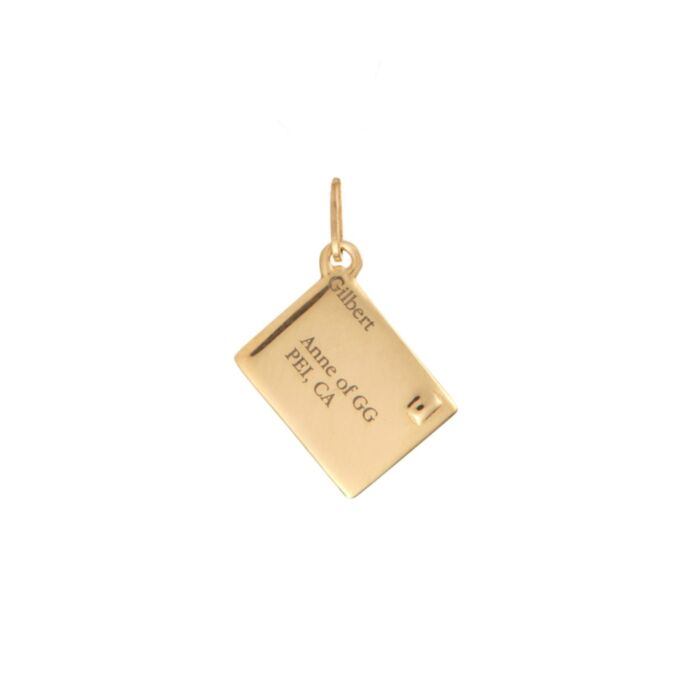 The Smallest Love Letter Charm