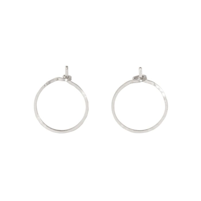 Hoop Dream Earring, silver (single)