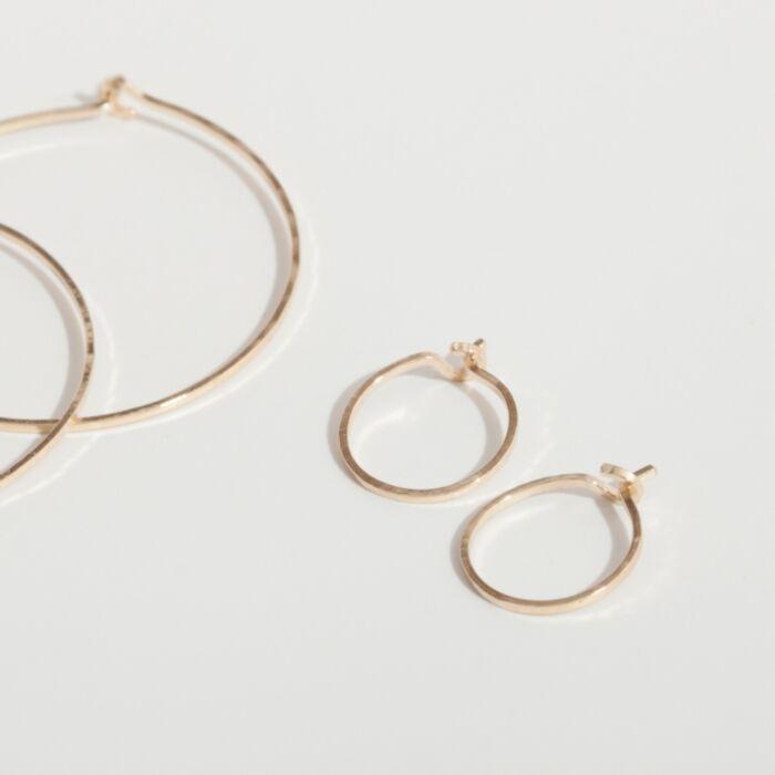 Hoop Dream Earring, yellow gold (single) image