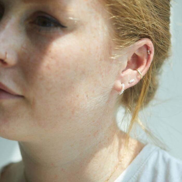 Baby Pearl Ear Climber (single) image