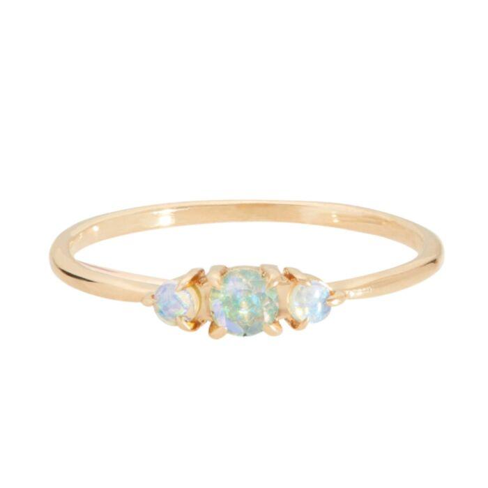 Sleeping Beauty Ring, Opal