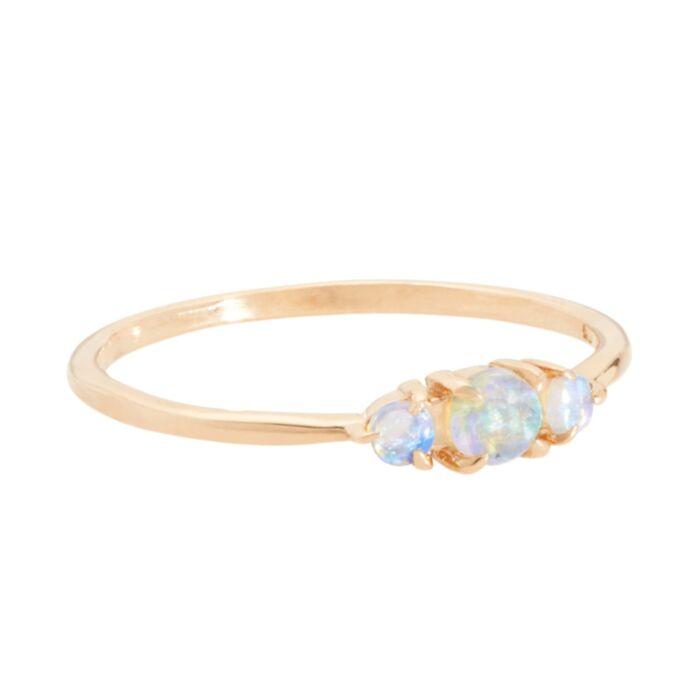 Sleeping Beauty Ring, Opal image
