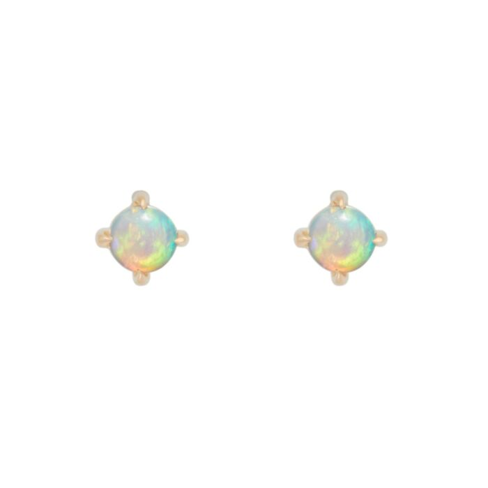 Sleeping Beauty Opal Stud (SINGLE)