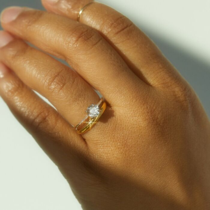 The Swan Solitaire, Supreme (Cultivated Diamonds) image