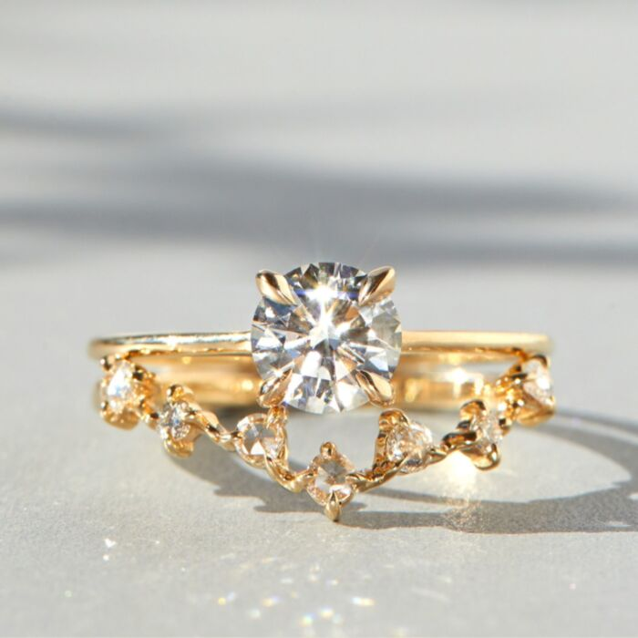 The Swan Solitaire (Cultivated Diamond) image