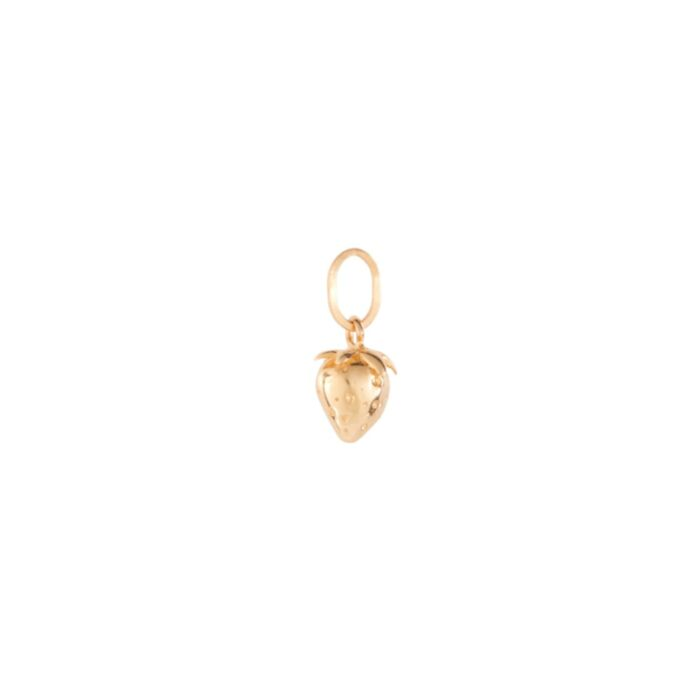 Wild Strawberry Charm, Yellow Gold