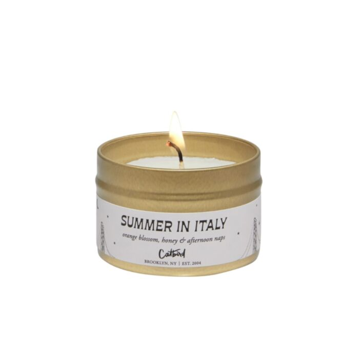 Summer in Italy Travel Candle