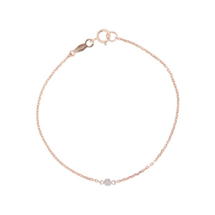 Tiny Corsage Bracelet, rose gold image