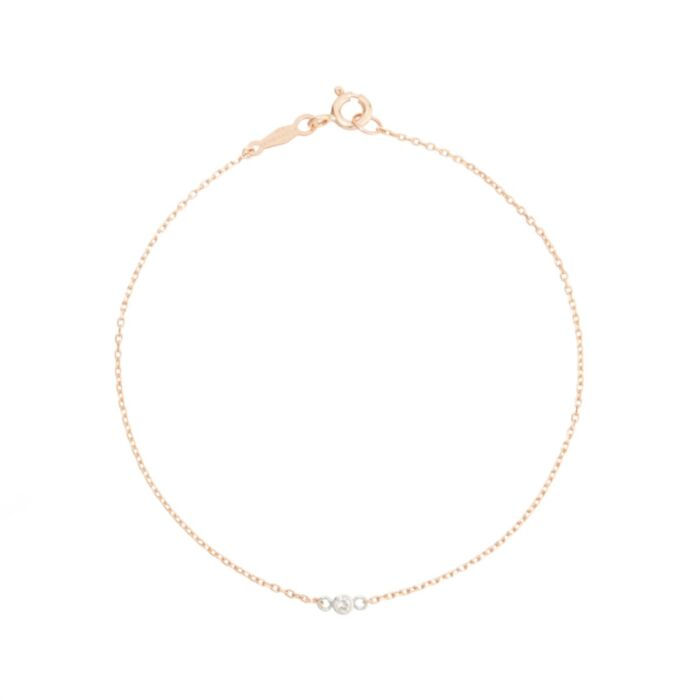 Tiny Corsage Bracelet, rose gold