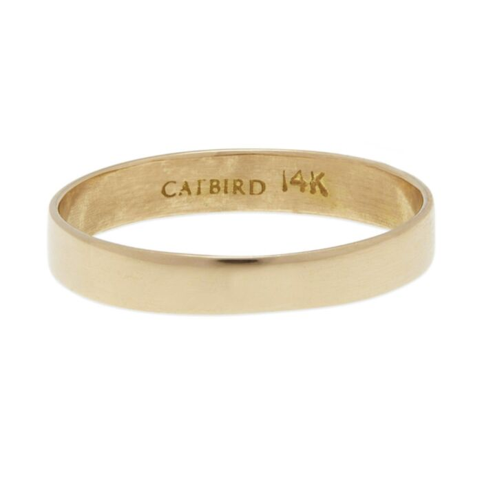 Tomboy Ring, Yellow Gold image