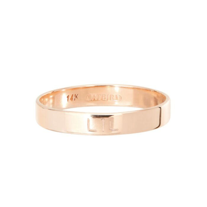 Tomboy First Knuckle Ring, Rose Gold
