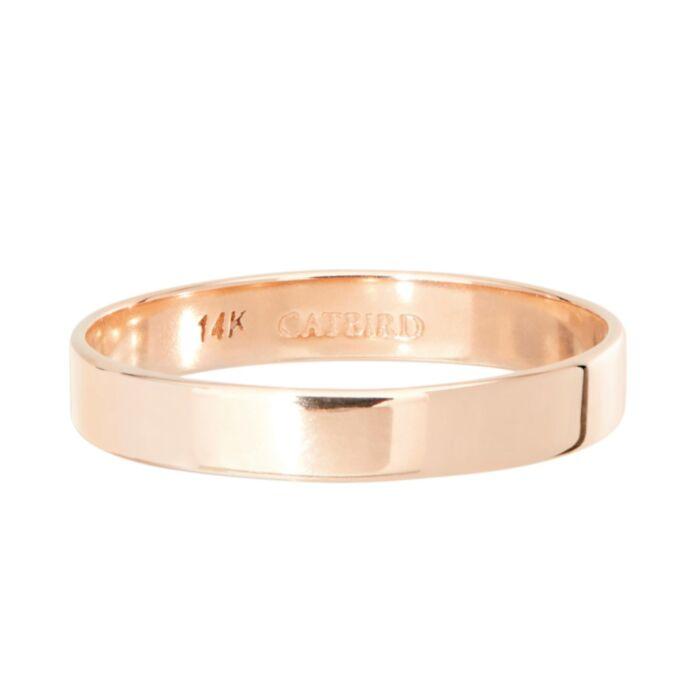 Tomboy Ring, Rose Gold